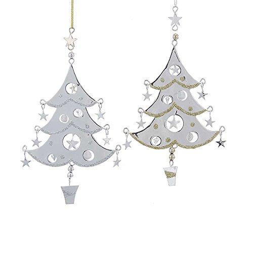Kurt Adler YAMD2731 Tree Ornament Set of 2