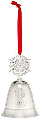 Lenox 2017 Annual Musical Bell Snowflake Ornament