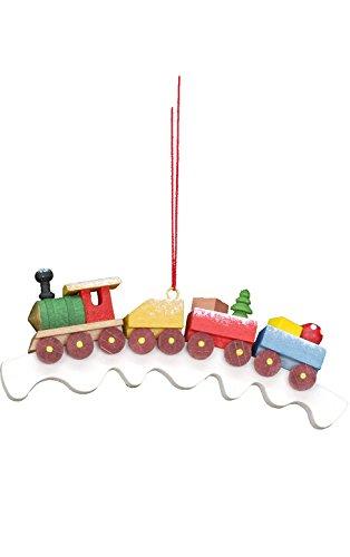 "10-0447 – Christian Ulbricht Ornament – Train – 2.75″""H x 2.5″""W x .25″""D"
