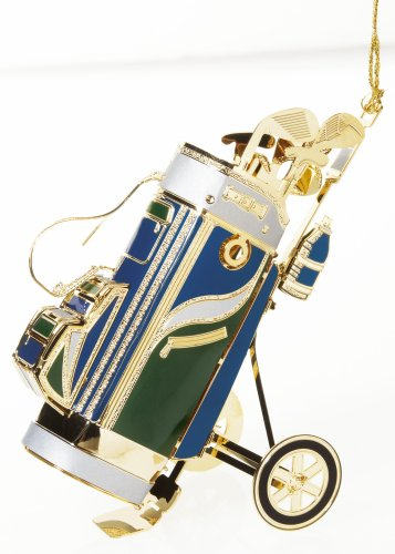 Baldwin GolfßBag 3-inch Sports Ornament