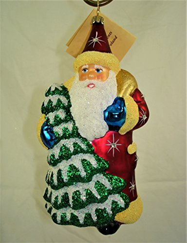 Diamond Studded Santa – Made by Ino Schaller