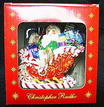 CHRISTOPHER RADKO SANTA'S CANDY RIDE – BLOOMINGDALES EDITION