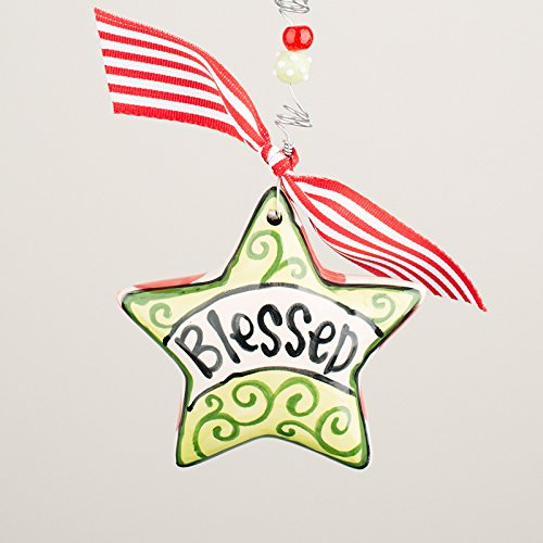 Glory Haus, Inc Blessed Star Puff Ornament