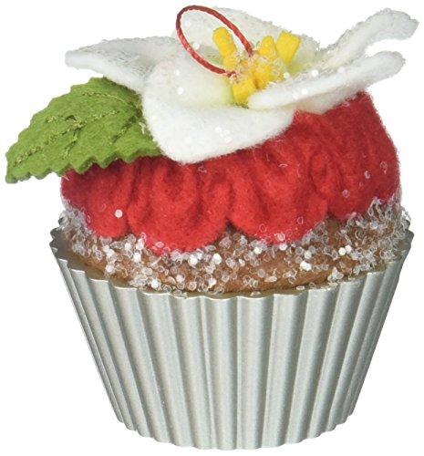 Hallmark Keepsake 2017 Candied Christmas Rose Christmas Cupcakes Christmas Ornament