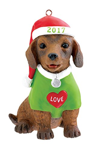 Carlton Ornament 2017 Puppy Love #17 – #CXOR025M