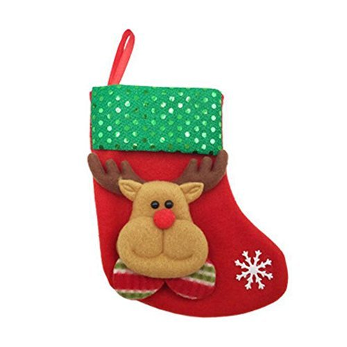 Zehui Christmas Stocking Holders Candy Bag Christmas Gift Bag Hanging Decor for Christmas Decoration
