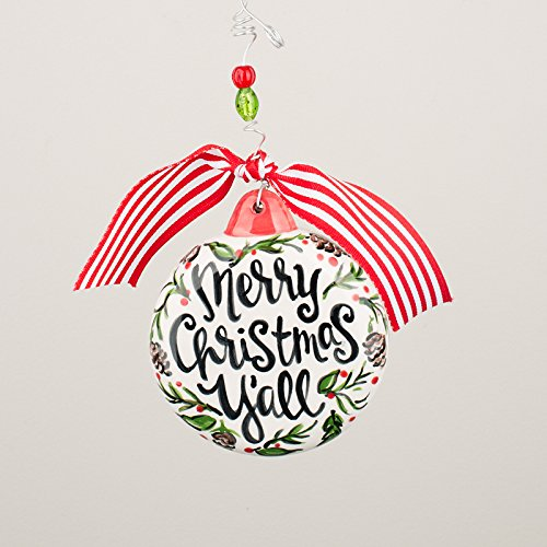 Glory Haus 2990104 Merry Christmas Y All Puff Ornament