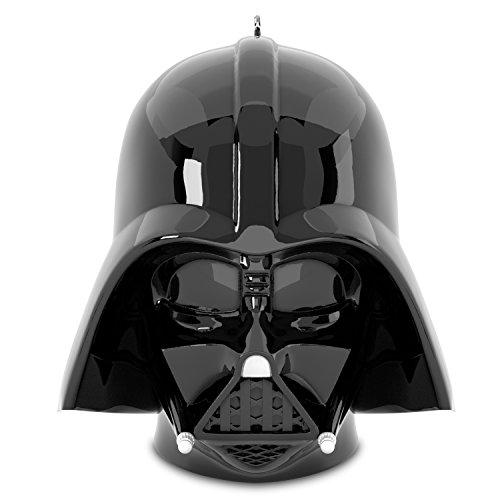 Hallmark Keepsake 2017 Star Wars Darth Vader Helmet Sound Christmas Ornament