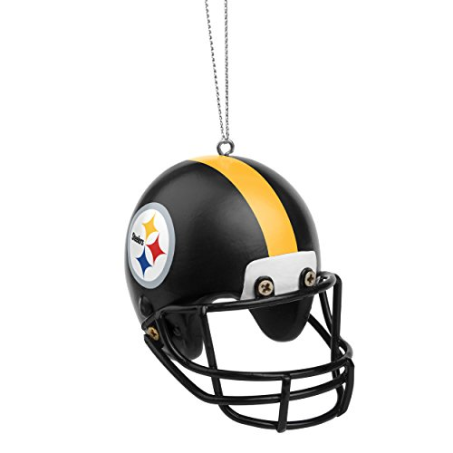Pittsburgh Steelers Official NFL Holiday Christmas Ornament Resin Helmet by Forever Collectibles 373711