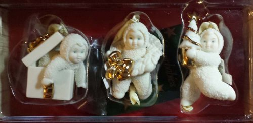 Snowbabies Christmas Trimmings ( Set of 3) Ornament