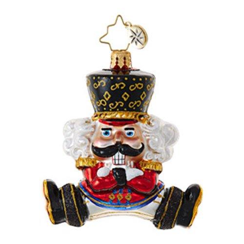 Christopher Radko Bolshoi Guard Little Gem Christmas Ornament