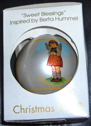 1992 Schmid Sweet Blessings Christmas Ornament Inspired by Berta Hummel