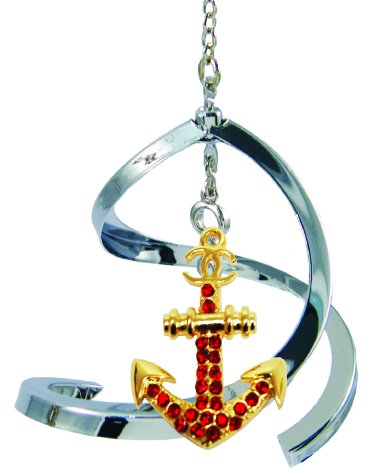 Propelling Spiral Ornaments – Anchor (Blue)