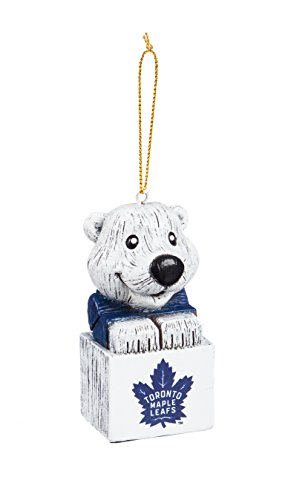 Team Sports America Toronto Maple Leafs Team Mascot Ornament