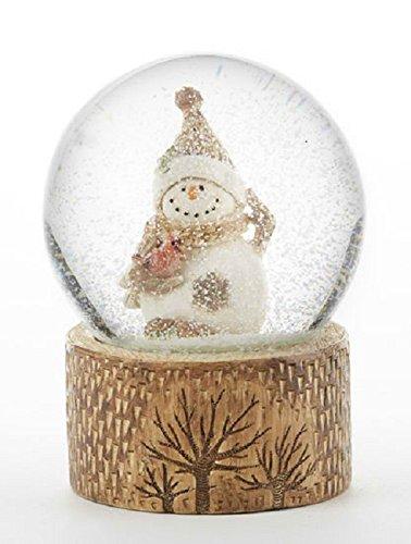 Delton Products 4 x 5.3″ Resin Snowman Snowglobe