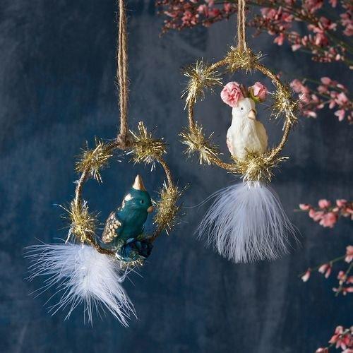 Cockatiel Ornament Set of 2