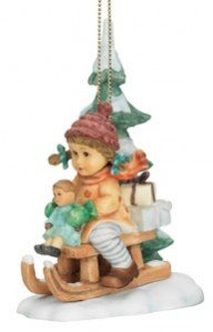 M.I. Hummel Christmas Ornament – Christmas Delivery