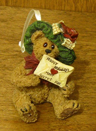 Boyds resin Ornaments #25742 MYSTERI BEARLOVE…SPECIAL WISHES
