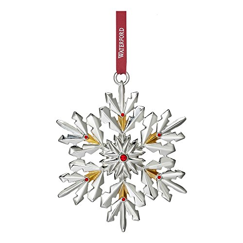Waterford 2017 Annual Silver Snowflake Christmas Ornament