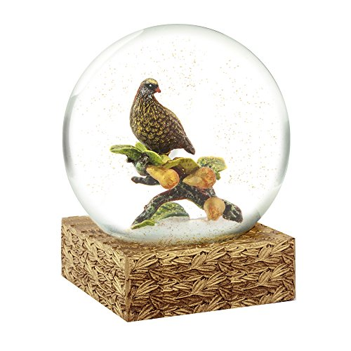 Partridge and Pears Cool Snow Globe by CoolSnowGlobes