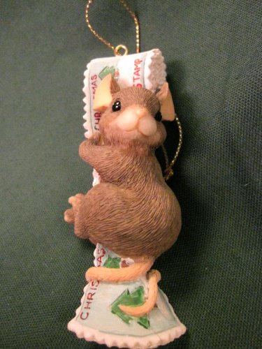 Stamp Dispenser Charming Tails Ornament 87483