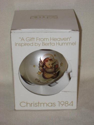 "1984 "" A Gift From Heaven "" Christmas Ornament by Berta Hummel"