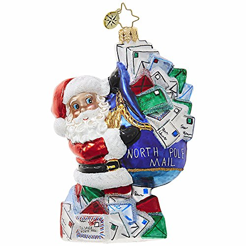 You've Got Mail, Santa! Ornament by Christopher Radko