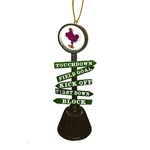 Team Sports America Virginia Tech Fan Crossing Ornament