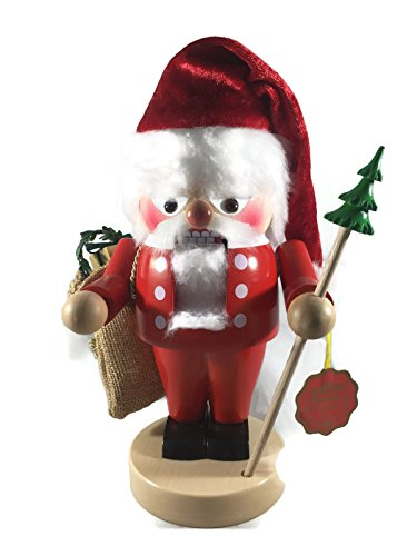 Steinbach Nutcrackers Wooden Troll Old Santa 11 Inches Tall Collectible Christmas Figures Kurt Adler Brand New Hand Made in Germany