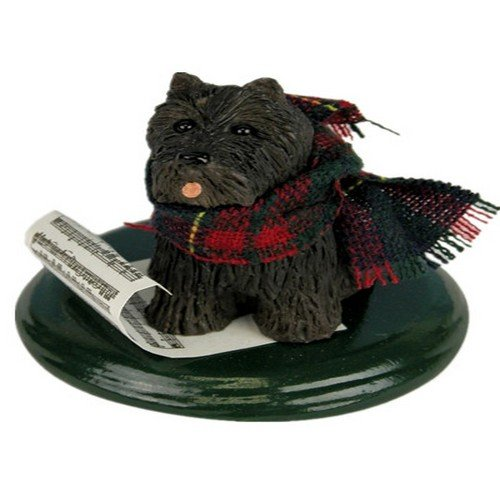 Scottish Terrier Caroling Dog
