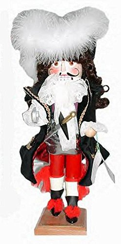 SteinbachCaptain Hook Nutcracker LE 1st in Peter Pan Series, Signed by Karla Steinbach