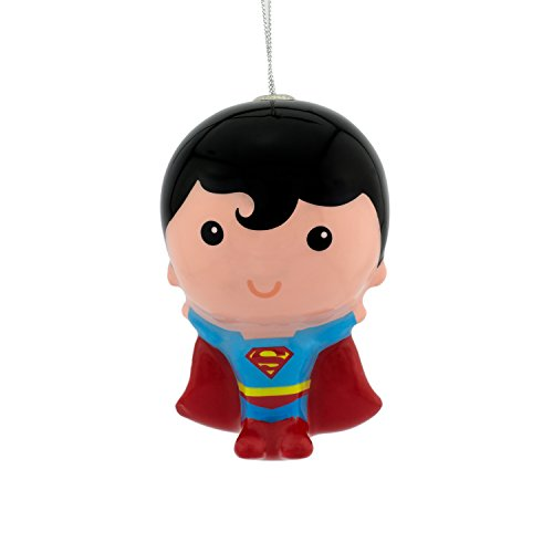 Hallmark DC Comics Superman Decoupage Christmas Ornament