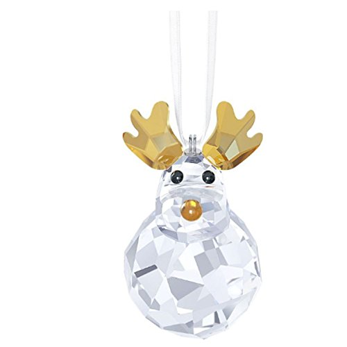 Swarovski Rocking Reindeer Ornament