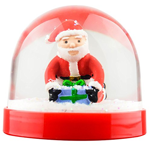 Funny Christmas Snow Globe Santa Butt Crack