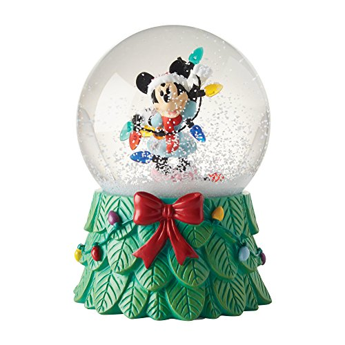 Department 56 Disney Minnie with Lights Waterball Snowglobe