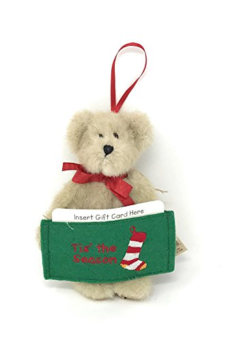 Boyds Head Bean Collection Gift Card Holder Tis' the Season
