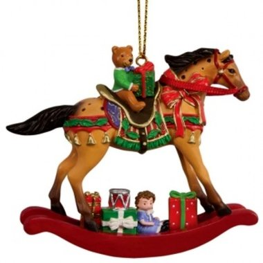 Trail of Painted Ponies Holiday 2017 Dillards Exclusive CHRISTMAS MORN 2.5″ Collectible Horse Ornament