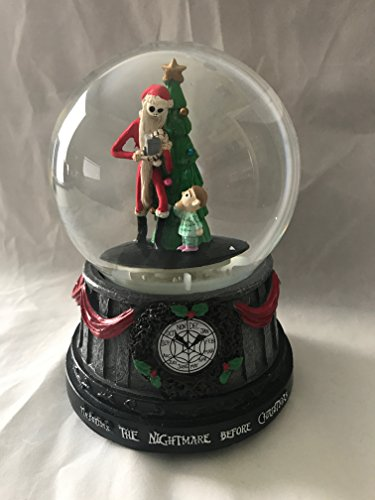 The Nightmare Before Christmas Jack Skellington Christmas Tree Musical SnoMotion Waterglobe