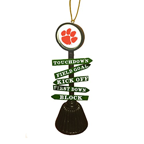 Team Sports America Clemson University Fan Crossing Ornament