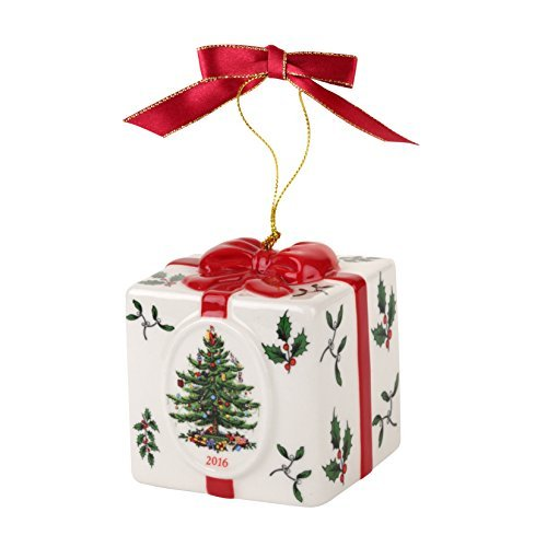 Spode Christmas Tree Ornament, Annual 2016 Edition, Holiday Gift Box by Spode