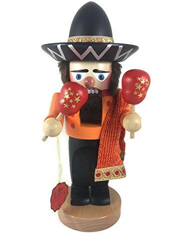 Steinbach Original Red Tag Chubby 12.5 Mexican Nutcracker