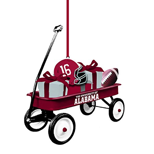 Team Sports America Alabama Team Wagon Ornament