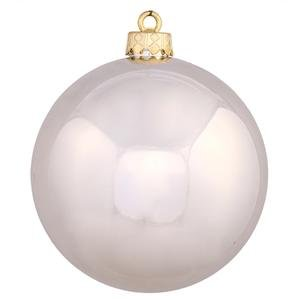 Vickerman 8″ Champagne Shiny Ball Ornament