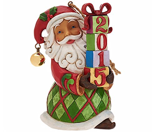 Enesco Jim Shore Heartwood Creek H/O Dated 2015 Santa