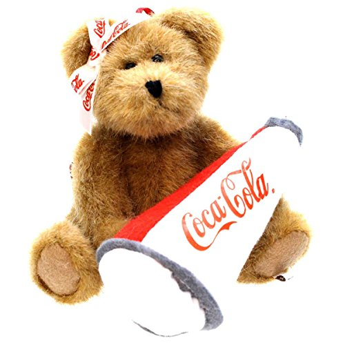 Boyds Bears Plush NANCY 919965 Coca-Cola Ornament Bear