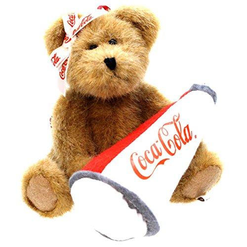 Boyds Bears Plush NANCY 919965 Coca-Cola Ornament Bear