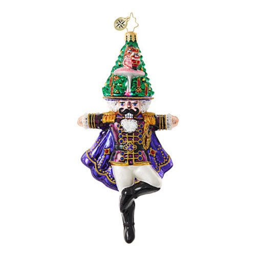 Christopher Radko Wood You Like to Dance? Nutcrackers Christmas Ornament