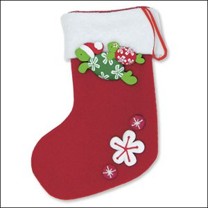 Ornament Fimo Stocking Honu