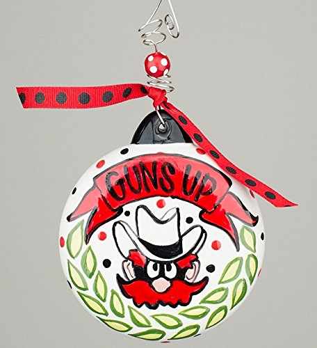 Texas Tech University – Christmas Ornament 4″