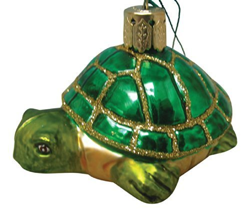 Beachcombers Glass Nautical Ocean Sea Turtle Christmas Ornament by Beachcombers